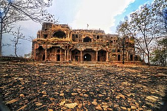Dost Mohammad of Bhopal - Ruins of Ginnorgarh, the Ginnor fort