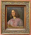 Giorgione, ritratto di giovane con camicia rosa.JPG