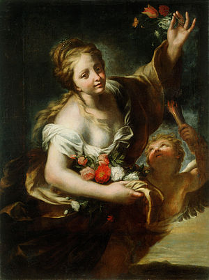 Andrea Carlone - Aurora (The Dawn) by  Andrea Carlone, National Gallery of Slovenia, 1678