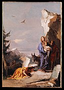 Giovanni Battista Tiepolo - The Flight into Egypt - 2019.141.19 - Metropolitan Museum of Art.jpg
