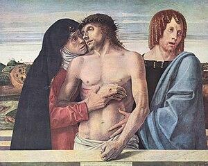 1460s in art - Image: Giovanni Bellini Pietà, 1460 circa