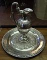 Giovanni stanghi, bacile e brocca, 1810-30 ca., argento.JPG