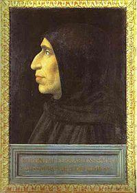 Girolamo Savonarola, en un retrato de 1498 por Fra Bartolomeo