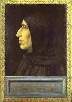 Girolamo Savonarola by Fra Bartolomeo, c. 1498.