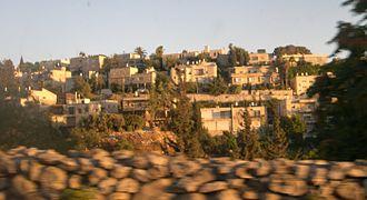 Givat HaMivtar - Givat Hamivtar, seen from north