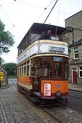 Glasgow Corporation Tramways No. 22 (DCP 6338).jpg