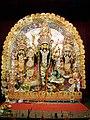 Goddess Durga & Her Family - New Alipore Triangular Park - Kolkata 2011-10-03 030310.JPG
