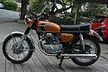 Gold 1972 Honda CB350 twin left 2.jpg
