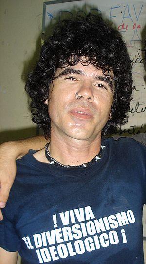 Cuban rock - Gorki Águila, leader of the Cuban rock band Porno para Ricardo