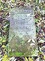 Grabstein auf jüdischem Friedhof Wolmirstedt.JPG