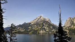 Jenny Lake en Cathedral Group