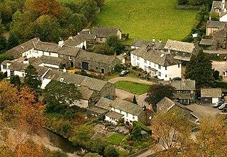 Grange in Borrowdale Human settlement in England