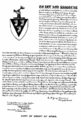 Grant of arms for Thomas Halsey of Lynn, Massachusetts, Southampton, New York.png