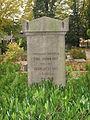 Grave of Carl Johan Hill in Lund Sweden.JPG