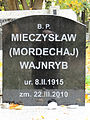 Grave of Mieczysław Wajnryb - 01.jpg