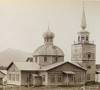 St. Michael's Cathedral (Sitka, Alaska) - Image: Greek Church, Sitka AK