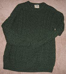 ec7cd0d87183 Aran jumper - Wikipedia