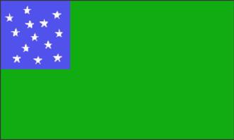 Albert Brown Chandler - Image: Green Mountain Boys Flag