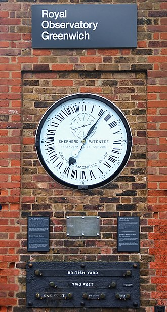Clock - The Shepherd Gate Clock at the Royal Observatory, Greenwich.