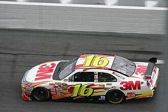 Greg Biffle - 2008 Cup racecar