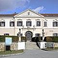 Großrußbach - Schloss, Portal.JPG