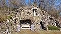 Grotte de Lourdes de Lixing-les-Rouhling (Moselle, France).jpg
