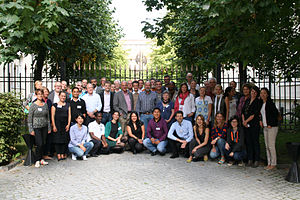 Sustainable Sanitation Alliance - SuSanA members at 18th SuSanA meeting in Stockholm, Sweden