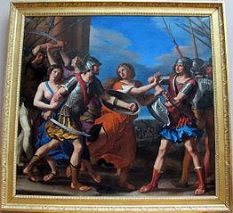 Hersilie séparant Romulus et Tatius