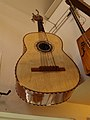 Guitarrone, awesome strings on this massive guitar, Lark in the Morning (music shop).jpg