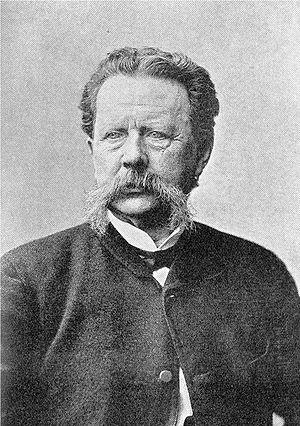 Gunnar Wennerberg - Gunnar Wennerberg in his old days. From Emil Hildebrand, Sveriges historia intill tjugonde seklet (1910).