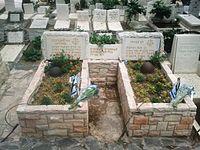 Gur and Dan graves.jpg