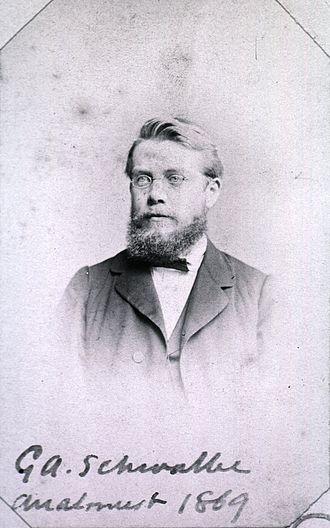 Gustav Schwalbe - Gustav Schwalbe (1844-1916)