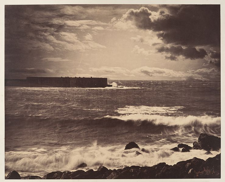 File:Gustave Le Gray-The Great Wave.jpg