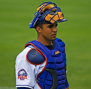 Gustavo Molina - Molina with the New York Mets