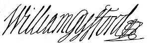 William Gyfford - Image: Gyfford sign