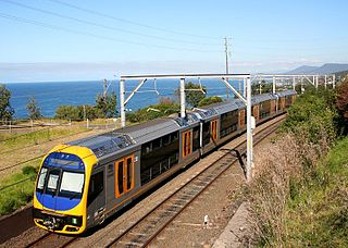 South Coast Line rail service in New South Wales, Australia
