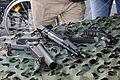 HK69A1, MP5, Glock 17 Kokonaisturvallisuus 2015 02.JPG