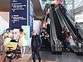 HKCEC WC North interior escalators n visitors January 2019 SSG.jpg