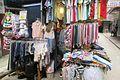 HK 上環 Sheung Wan 永吉街 Wing Kut Street clothing stall June 2017 IX1 03.jpg