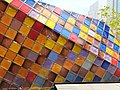 HK 中環 Central 國際金融中心 IFC 平台 terrace roof garden the colorful glass tiles sculptures April 2020 SS2 01.jpg