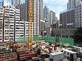 HK 石塘咀 Shek Tong Tsui 翰林峰 Novum West constrution site Nov 2017 IX1 07.jpg