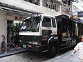 HK Central Saunton Street Carisberg Nissan Diesel trucker logistic Oct-2012.JPG