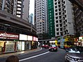 HK Mid-levels Bonham Road 寧養臺 Ning Yeung Terrace bus 40 stop rainy day Jan-2016 DSC.JPG