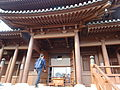 HK NLG 南蓮園池 Nan Lian Garden 天王殿 Hall of Celestial King front entrance 01 visitor Mar-2016 DSC.JPG