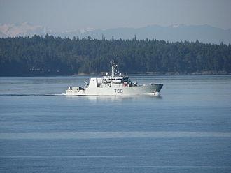 HMCS Yellowknife - Image: HMCS Yellowknife 2