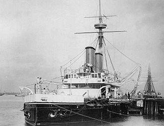 Prince Louis of Battenberg - HMS Dreadnought, c. 1894