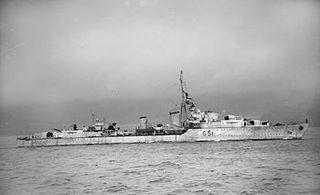 HMS <i>Ashanti</i> (F51) ship