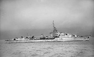 Terence Lewin - Image: HMS Ashanti