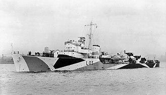 HMS Badsworth (L03) - Image: HMS Badsworth