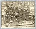 HUA-212033-Plattegrond van de stad Utrecht met directe omgeving met weergave van het stratenplan wegen en watergangen en van enkele kerken in opstand met gestyle.jpg